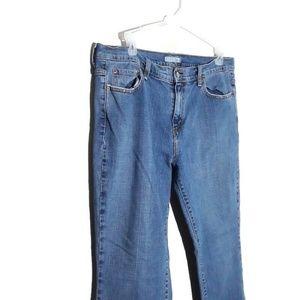 Levi Boot Cut 515 Blue Jeans Size 16